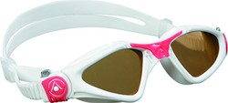 Aquasphere zwembril Kayenne Lady Dark Lens White/Red Obsession