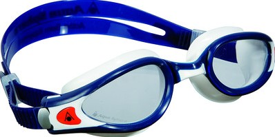 Aquasphere zwembril Kaiman EXO Clear Lens Blue Muted/White