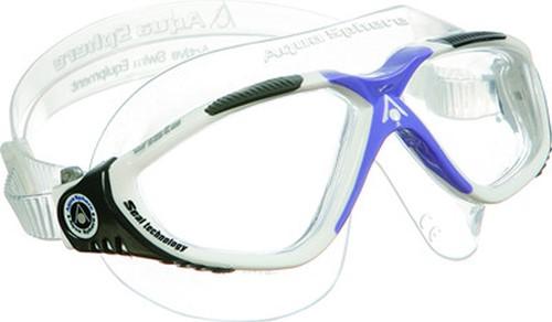 Aquasphere zwembril Vista Lady Clear Lens White/Lavender
