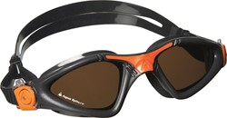Aquasphere zwembril Kayenne Polarized Lens Grey/Orange