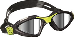 Aquasphere zwembril Kayenne Mirrored Lens Grey/Lime