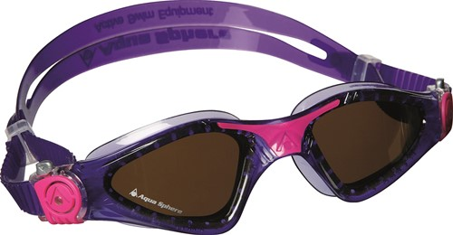 Aquasphere zwembril Kayenne Lady Polarized Lens Violet/Pink