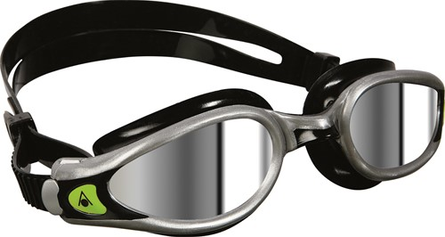 Aquasphere zwembril Kaiman EXO Mirrored Lens Silver/Black