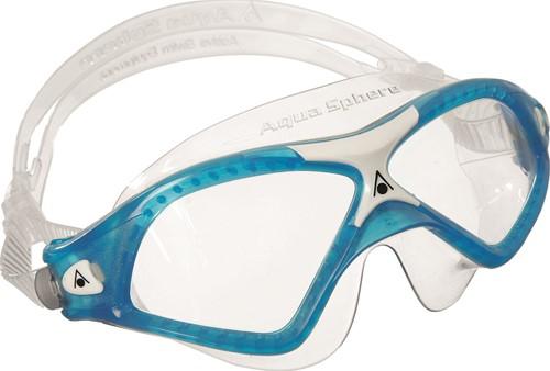 Aquasphere zwembril Seal XP 2 Clear Lens Aqua/White