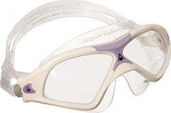 Aquasphere zwembril Seal XP 2 Lady Clear Lens White/Lavender
