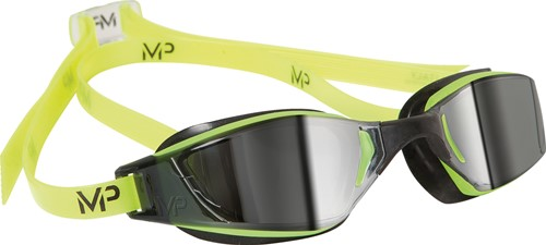 Aquasphere zwembril Xceed Mirrored Lens Yellow/Black
