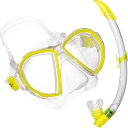 Aqualung Duetto LX + Airflex Purge LX Yellow