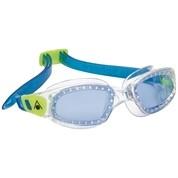 Aquasphere Kameleon Kid Blue Lens Clear/Lime