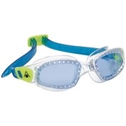 Aquasphere Kameleon Kid Blue Lens Clear/Lime