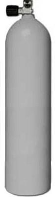 Aluminium Duikfles 11,1 Liter Enkel 200 Bar