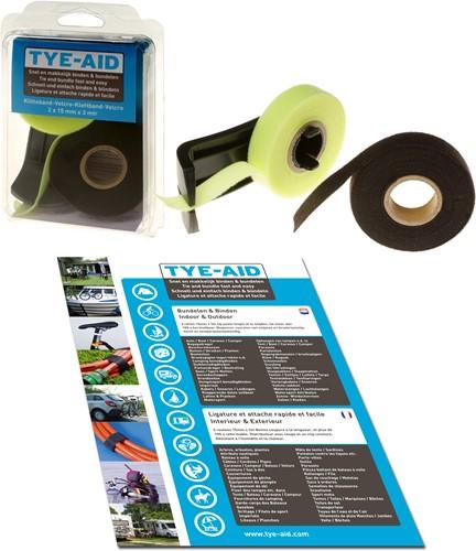 Mcnett Tye-Aid Klitteband Met Dispenser