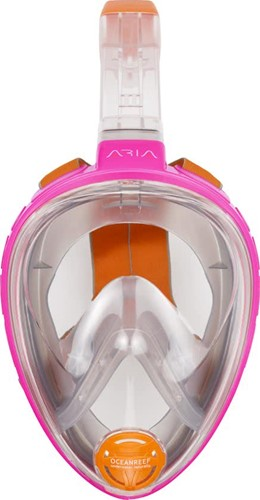 Ocean Reef Aria – Full Face Snorkeling Mask Pink Xsmall