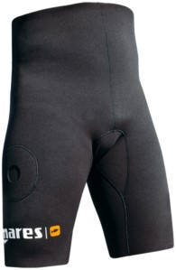 Mares Shorts Pants Black W/Pocket 2Mm Opencell L