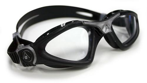 Aquasphere Kayenne Clear Lens / Zwart-Zilver Zwembril