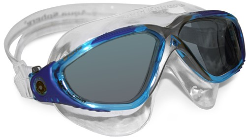 Aquasphere zwembril Vista Dark Lens Aqua/Blue