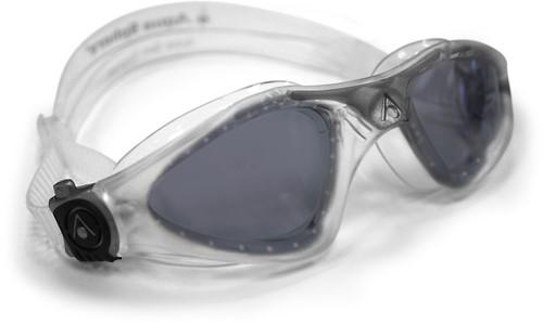 Aquasphere zwembril Kayenne Dark Lens Clear/Silver
