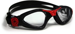 Aquasphere zwembril Kayenne Small Clear Lens Black/Red