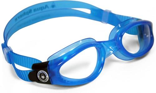 Aquasphere zwembril Kaiman Clear Lens Light Blue