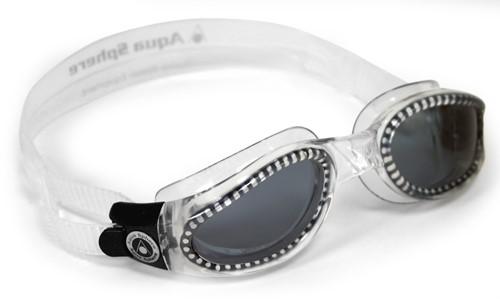 Aquasphere zwembril Kaiman Dark Lens Clear