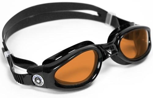 Aquasphere zwembril Kaiman blue/dark/amber Lens