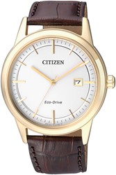Citizen Aw1233-01A Leather