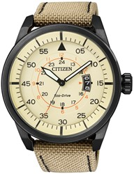 Citizen Aw1365-19P Leather