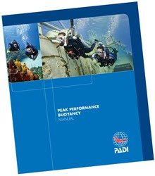 PADI Manual - Peak Performance Buoyancy