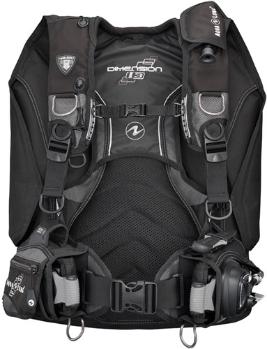 Aqualung Dimension I3 Blk/Silver XL trimvest