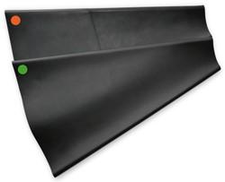 Bare Latex Wrist Seals HD Conical (pr) 1 size