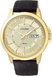 Citizen Bf2013-05Pe Leather