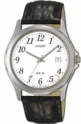 Citizen Bi0740-02A Leather