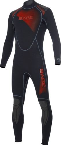 Bare 3/2mm duikpak Sport Full Red Men XL