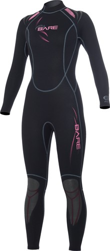 Bare 3/2mm duikpak Sport Full Pink Women 14