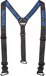 Bare Embroidered Drysuit Suspender Kit 3-Way