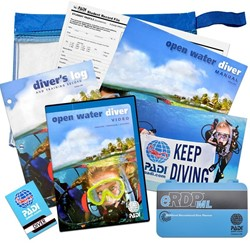 PADI Open Water Crewpak Ultimate met eRDPML