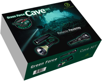 Greenforce Cave Kit kabellamp