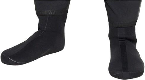 Bare Drysuit Soft Boots 37/38-XS