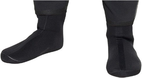 Bare Drysuit Soft Boots 36-XXS