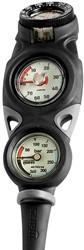 Mares Mission 3 3D console manometer, dieptemeter & kompas