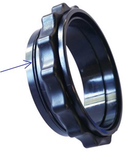 Bare O-ring Voor Docking Ring Set