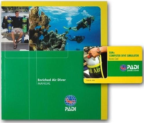 PADI Manual - Enriched Air Diver, Computer Use (German)