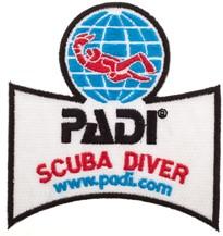 PADI Emblem - PADI Scuba Diver