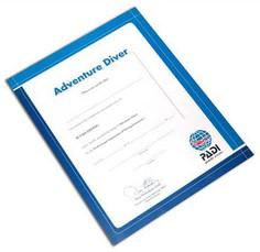 PADI Certificate - Adventure Diver