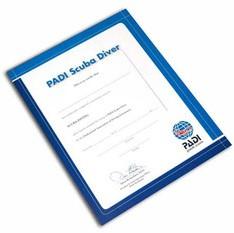 PADI Certificaat - PADI Scuba Diver