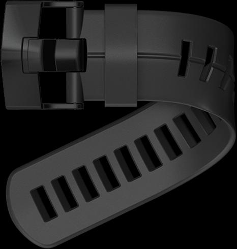 Suunto DX Zwart Extension Strap Kit