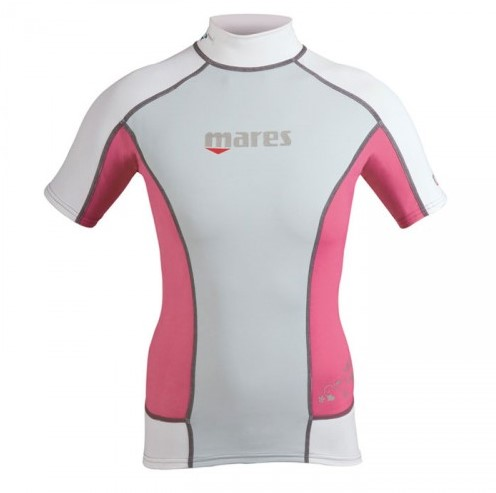 Mares Rash Guard Trilastic S-Sleeve She Dives S  Pk