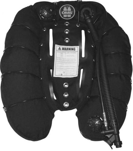 OMS 60 lbs Deep Ocean Wing Black