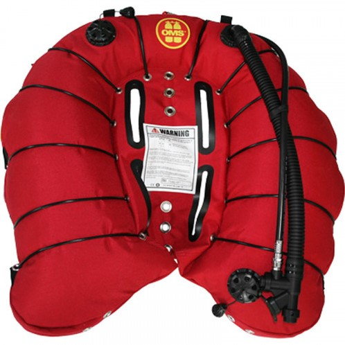 OMS 94 lbs Deep Ocean Wing Red Vintage