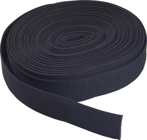 "OMS 1"" / 2,5cm Nylon Webbing Standaard Stijfheid (25ft / 7,6m)"