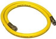 Automatenslang rubber   3/8 - 100cm - geel